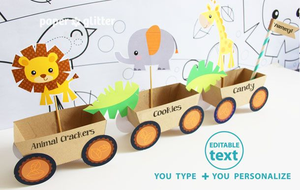 Food Papercraft Template By Printable Milk Flickr - Cute Food Paper