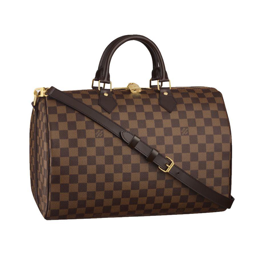 90d4da8189a Louis Vuitton Speedy 35 With Shoulder Strap   Louis Vuitton ...