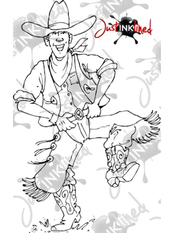 Digital Stamp Cottin Pickin Joe