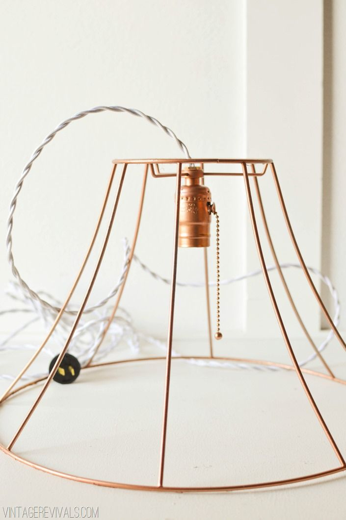 Rock what ya got upcycled copper wire pendant lights from ugly rock what ya got upcycled copper wire pendant lights from ugly lampshades keyboard keysfo Images