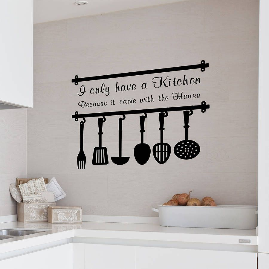 decoration wall decals decal stickers tattoo home house interior decor vivid modern large small on kitchen decor quotes wall decals id=40226