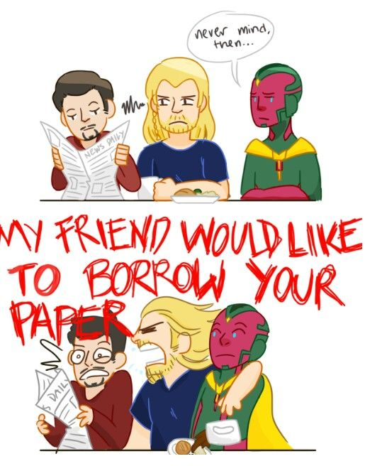 Thor and Vision 2/2