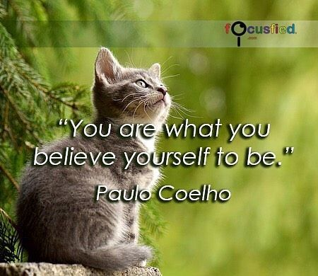 You Are What You Believe Yourself To Be. Visit Quotes For Life At  Focusfied.com #Quotes #Inspirational