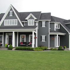 Exterior Paint Colors Grey cape style home exterior paint colors - google search | exterior