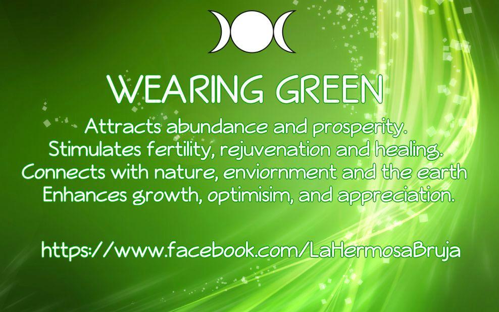 Wearing Green By La Hermosa Bruja   Root Chakra   Pinterest   Brujas ...