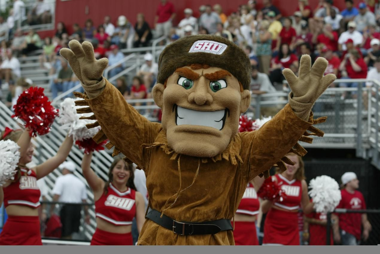Sacred Heart University Pioneers. Big Red the Pioneer. SHU was founded in  1963 by the Most Reverend Walter W. Curtis, Bishop … | Mascot, Catholic  university, Sacred