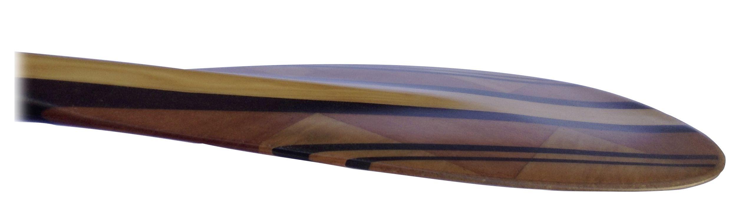 Deppen custom wood canoe paddles - Deppen Sup Paddle Blade Curves