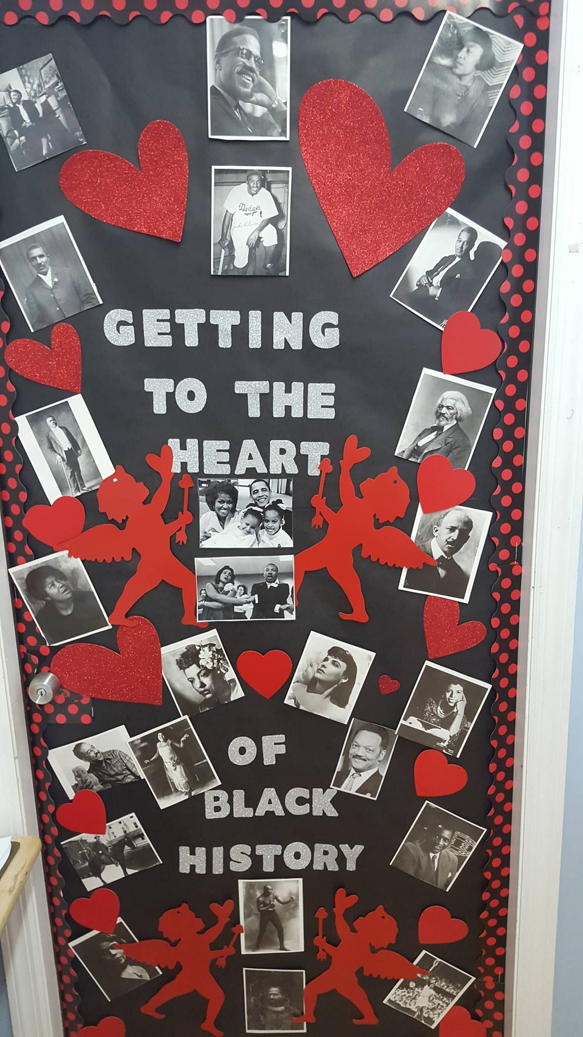 Valentines Day And Black History For February Classroom Decor