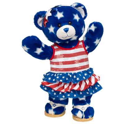 Stars and Stripes Star Style Teddy