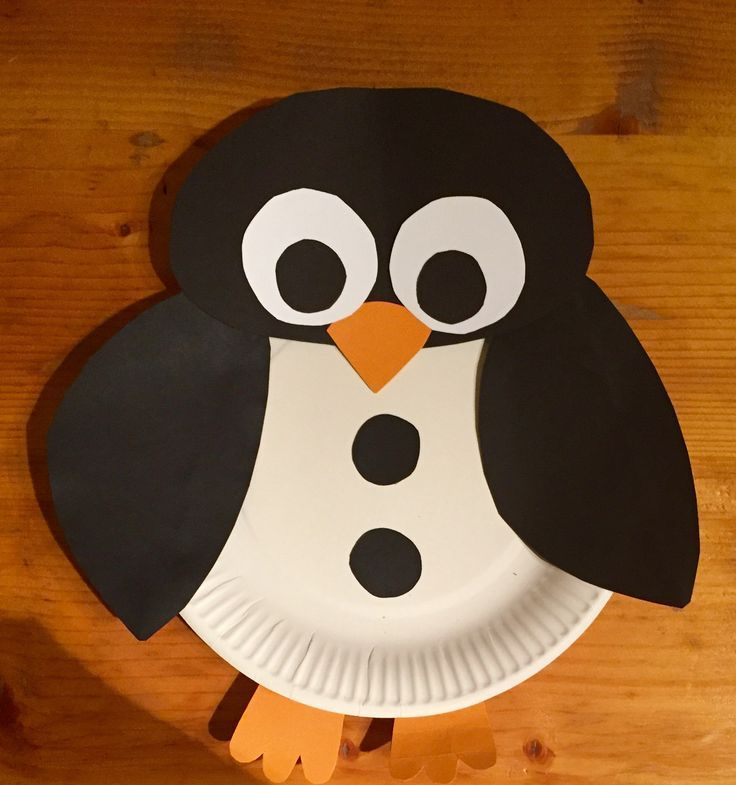 kleiner Pinguin - Basteln mit kindern - #Basteln #Kindern #Kleiner #mit #Pinguin #penguincraft