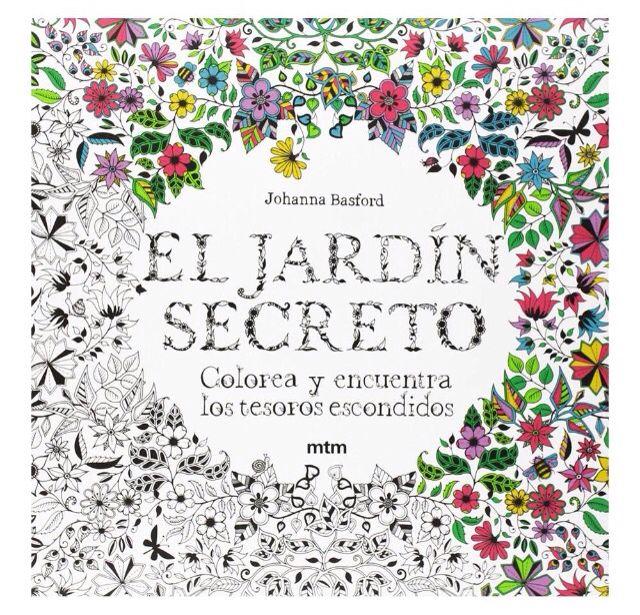 El Jardín Secreto | Rincón de lectura | Coloring books, Books y ...
