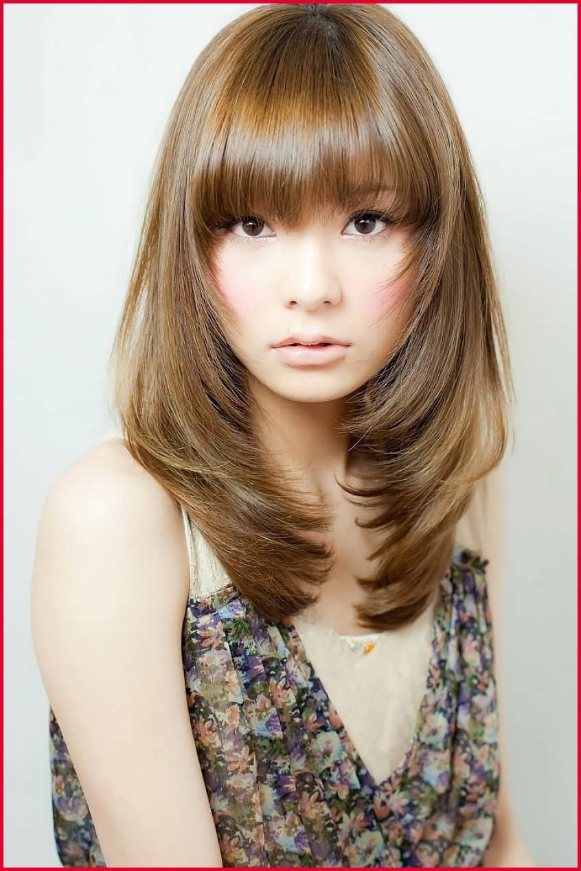Hairstyle Round Face Asian With Weave Medium Hair Styles Medium Length Hair Styles Asian Hair