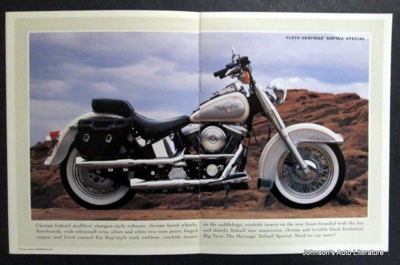 Harley Davidson 1994 Motorcycle Sales Brochure | custom