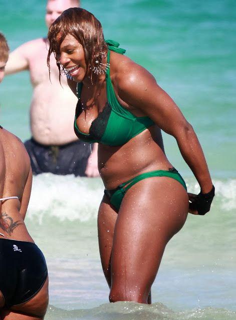 Serena williams ass bikini