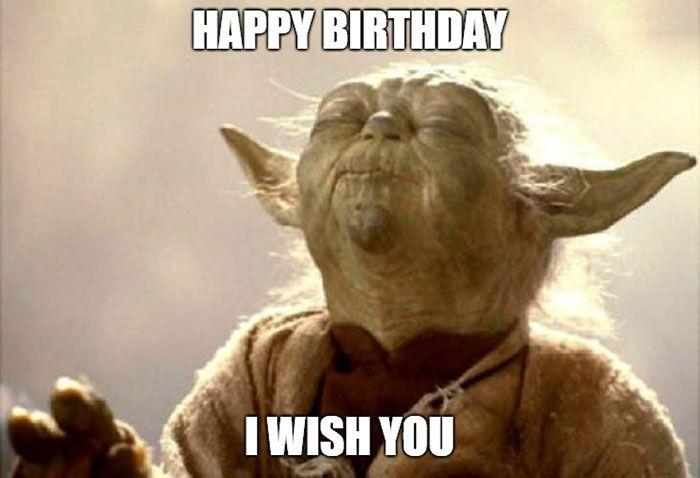 28 Awesome Star Wars Happy Birthday Meme Star Wars Happy Birthday Yoda Happy Birthday Happy Birthday Meme