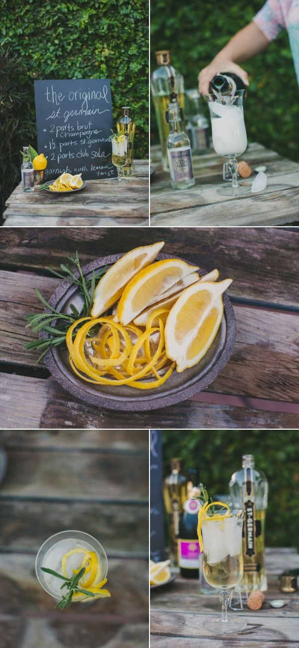 SMP at Home: St. Germain Cocktail Recipes by April Flowers