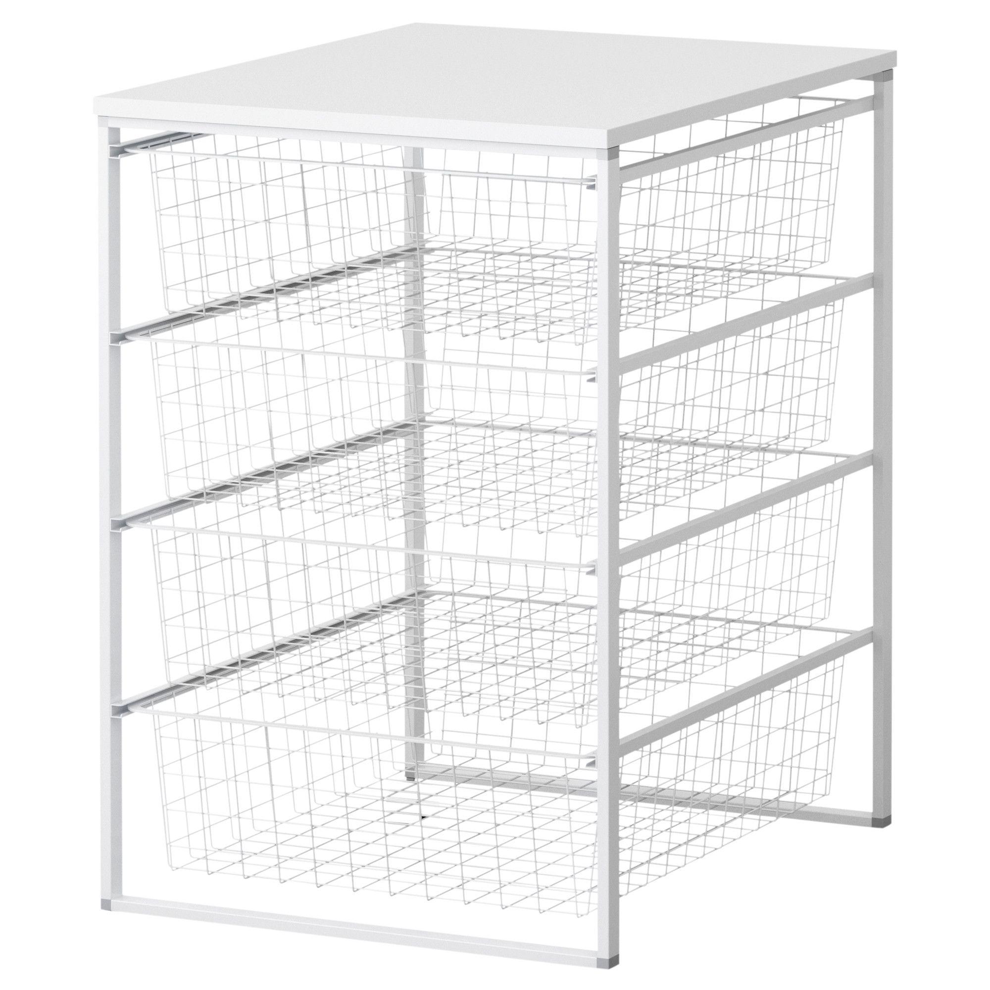 ANTONIUS Frame, Wire Baskets And Desk Top, $26.99. For Mercyu0027s Closet  Organization,