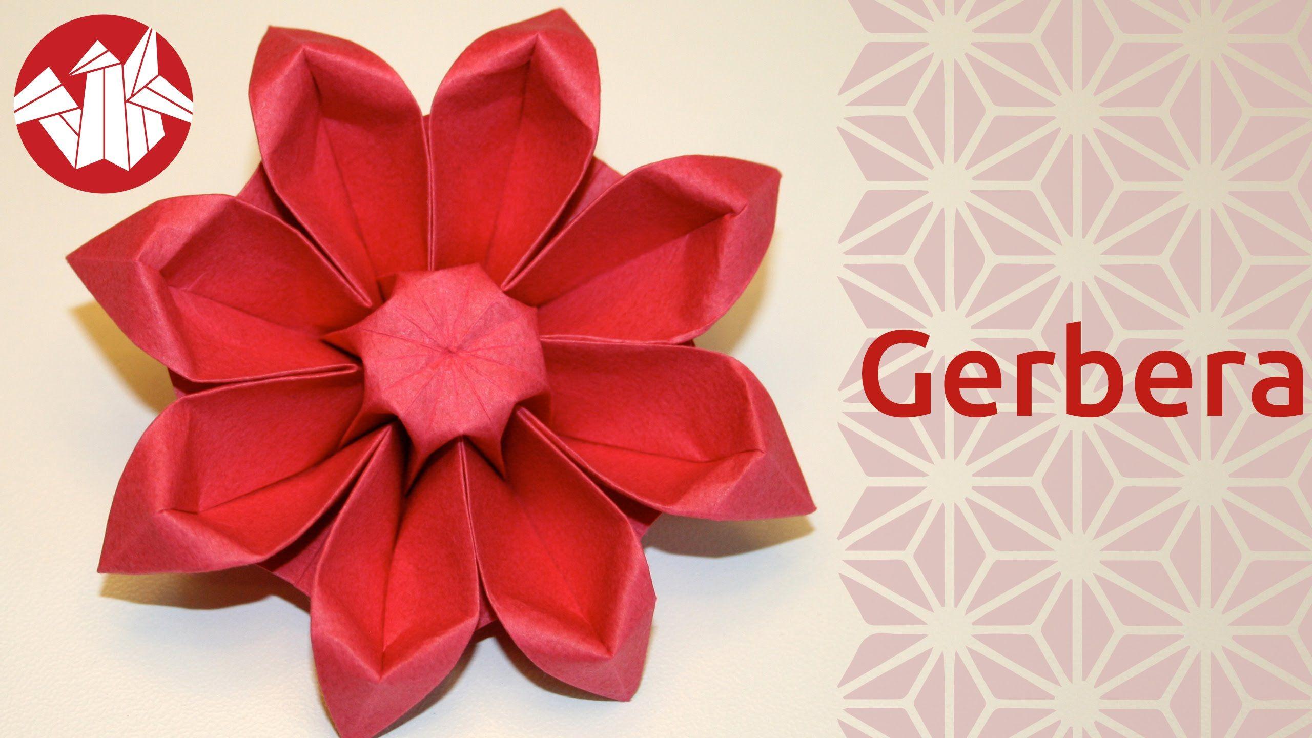 Origami fleur gerbera flower origami gerbera senbazuru origami fleur gerbera flower origami gerbera senbazuru mightylinksfo Image collections