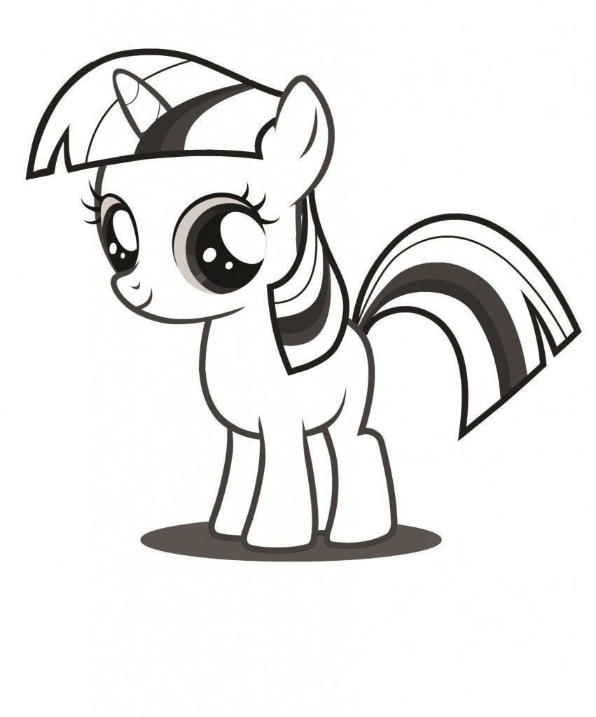 Free Printable My Little Pony Coloring Pages For Kids Pola Boneka Flanel Warna Sekolah Kartun