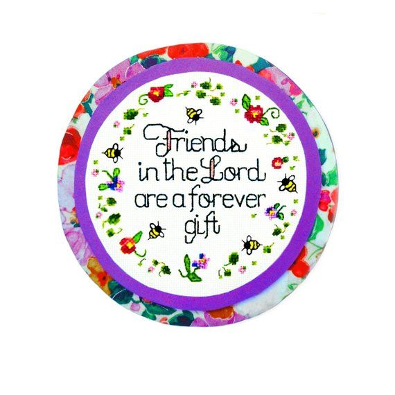Christian Quote Gift For Her Friends In The Lord Friend Birthday Magnet S