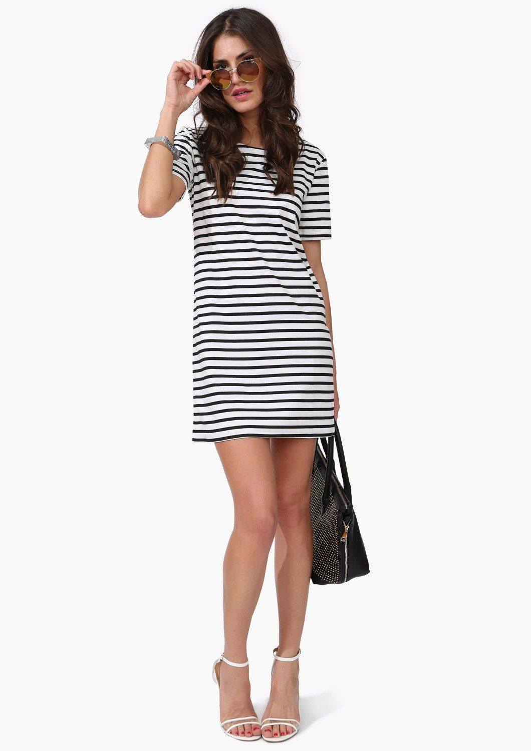 Easy striped dress
