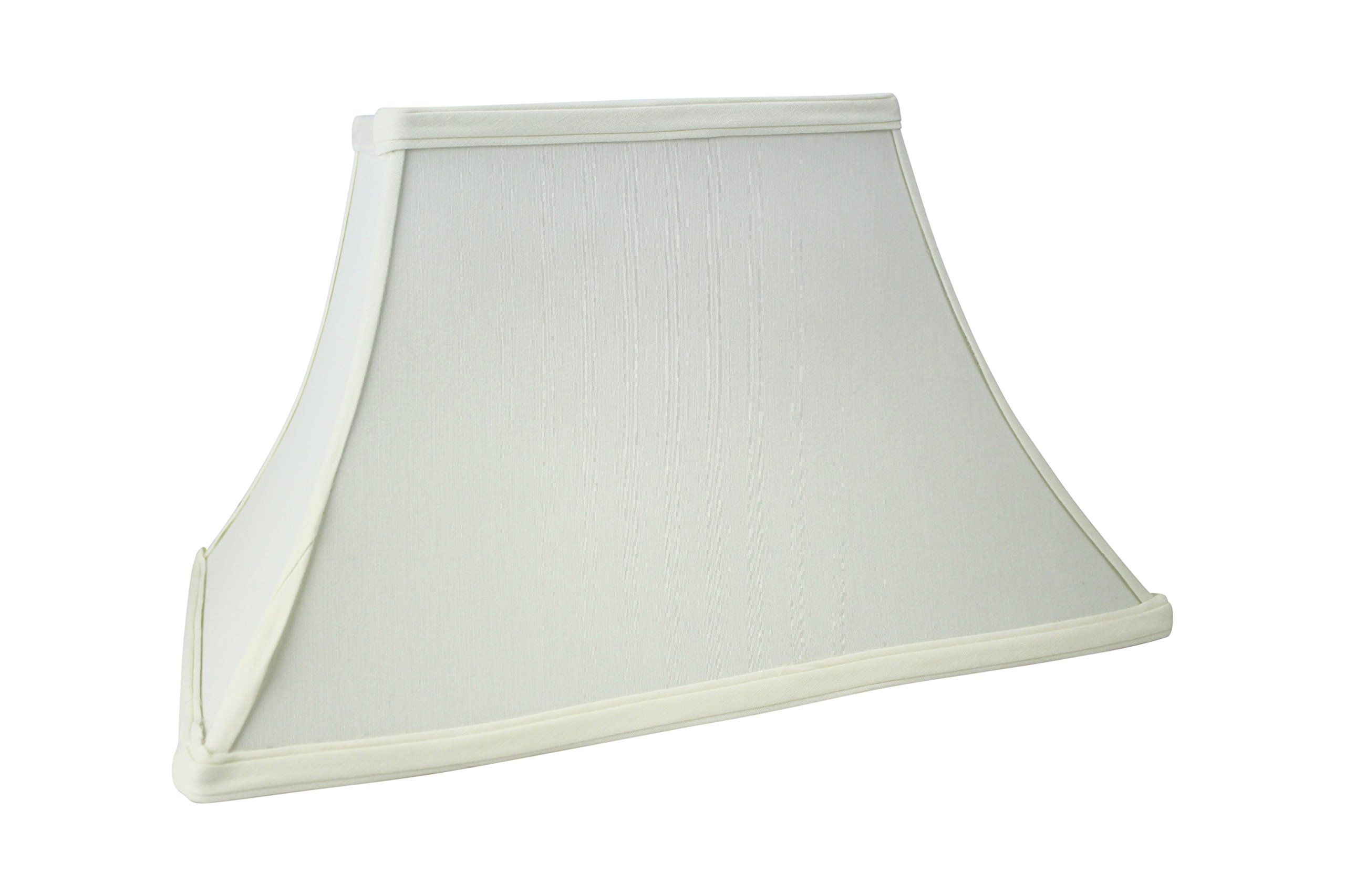 Rectangular Hard Back Bell Lamp Shade Off White Eggshell Color 16 Inch By Upgradelamps Click Image To Review More Details This Is Lamp Lamp Shade Shades