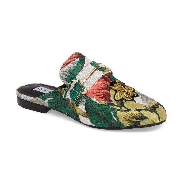 101fa2f0ddd Women's Steve Madden Kera Flat Loafer Mule (790 MAD) ❤ liked on ...