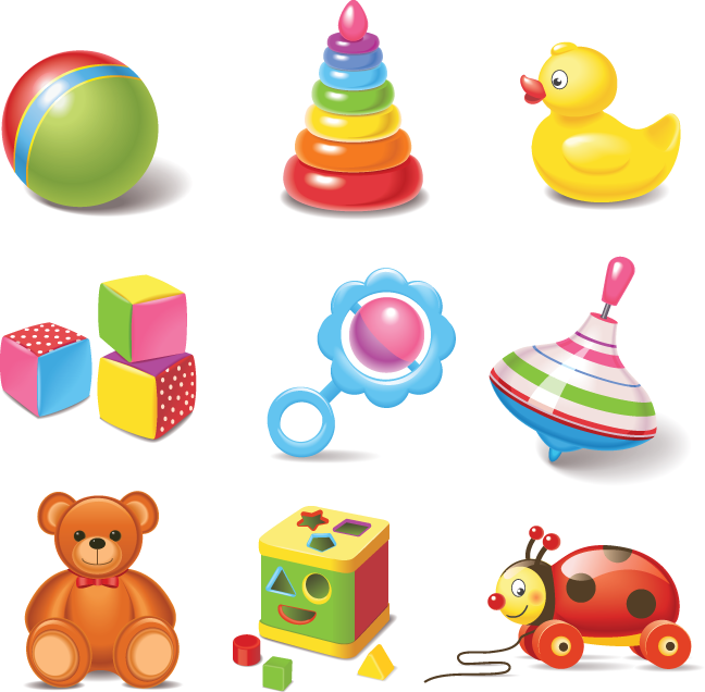 642 Baby Toys Toys Children Illustration Baby Toys