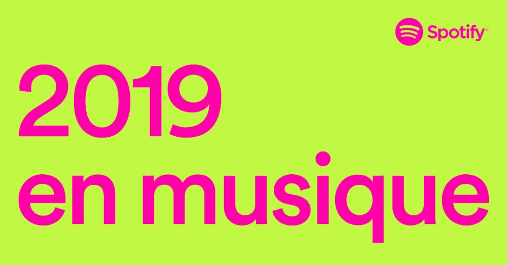 Votre année ne ressemble à aucune autre sur Spotify