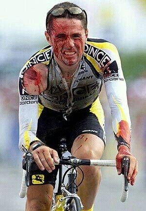 Asi es el ciclismo.