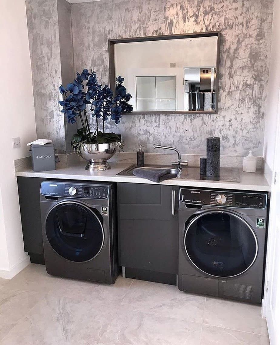 50 Clever Laundry Room Ideas That Are Practical And Space Decor Interior Design Career Online Furniture Shopping
