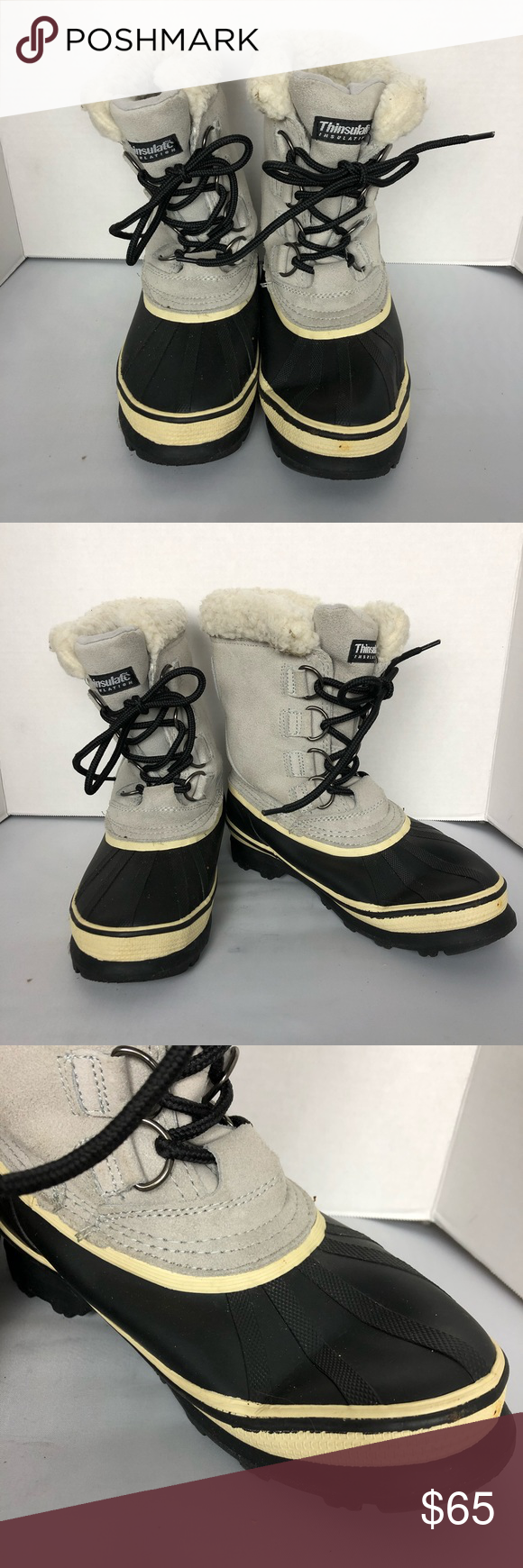 e7ff990f158 Ozark Trail Snow Boots used in good condition. One boot is bended due to  storage 455 Ozark Trail Shoes Winter   Rain Boots