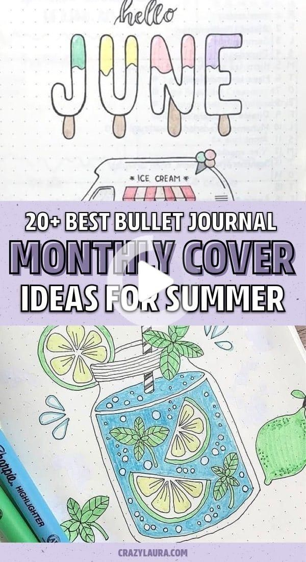 23 Must See June Monthly Cover Ideas For 2020 - Crazy Laura