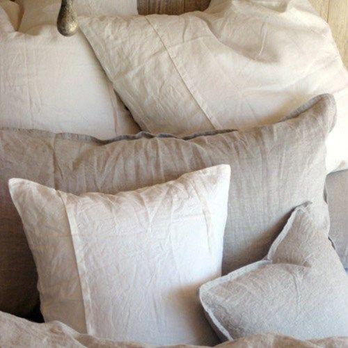 Tahari Zaha Bedding: Pom Pom At Home Bedding Louwie Organic Linen Pillow Sham