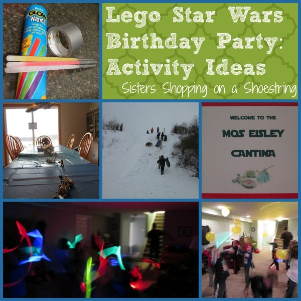 Lego Star Wars Birthday Party: Activities And Games
