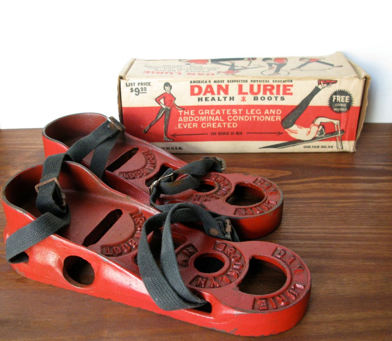 Dan lurie health boots no equipment workout great legs