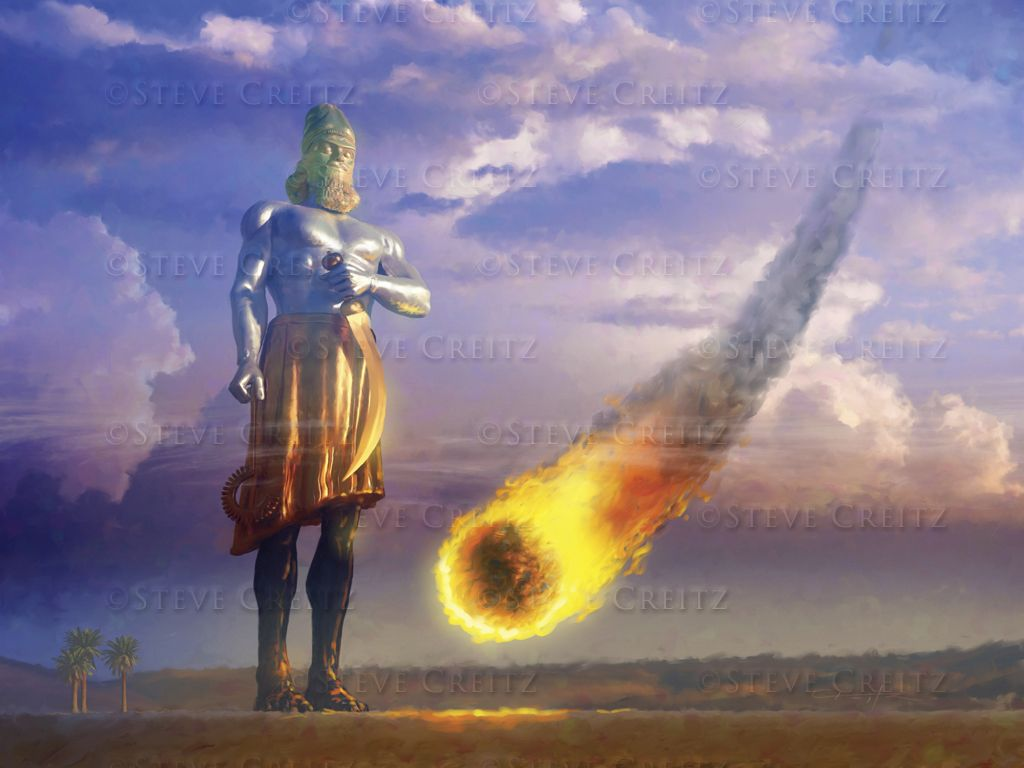Daniels Image At Daniel 2 44 Shows Us Clearly Where We Are In The Stream Of Time Nebuchadnezzar Saw A Vision From God Of Wh Bible Truth Bible Prophecy Jehovah