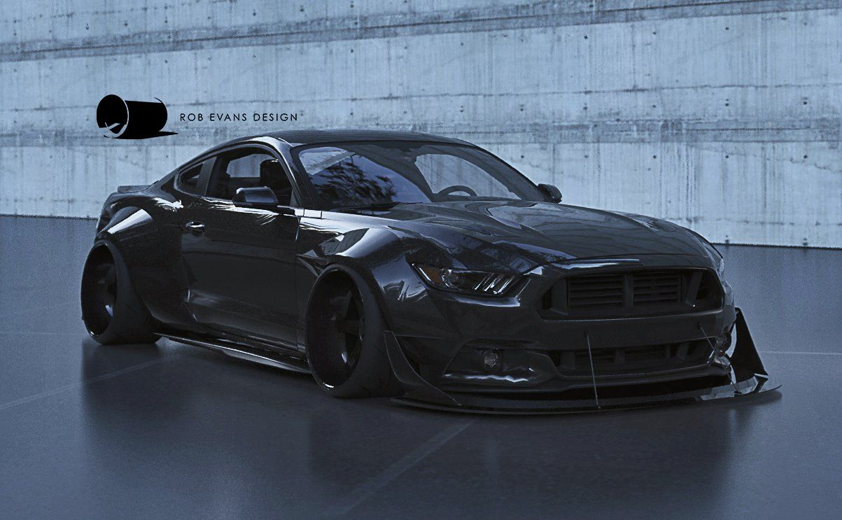2015 ford mustang widebody concept - 2016 Ford Mustang Concept