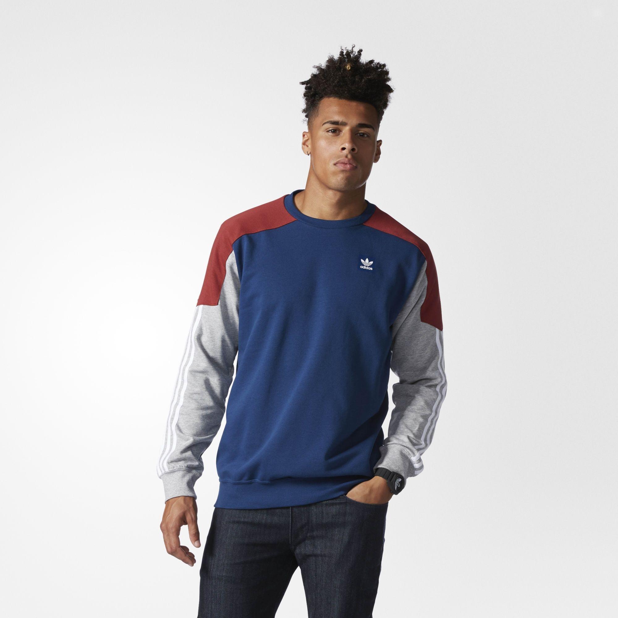Nautical Climalite SportswearMens Nautical Adidas Climalite SweatshirtWearables Climalite SweatshirtWearables SportswearMens Adidas gbfyY76