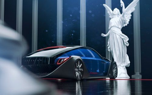 Photo of Rolls-Royce Exterion concept can plow snow in reverse