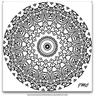 Kaleidoscope Mandala Hello EveryoneTo those of you who who love