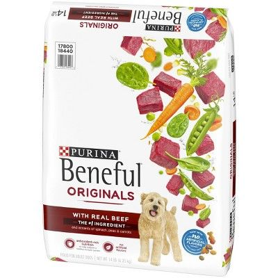 Purina Beneful Dry Dog Food Originals With Real Beef 155lb Bag