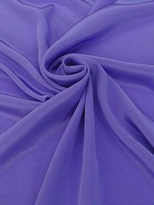 c385e771d4e Deep Periwinkle 100% Silk Crepe De Chine 43W