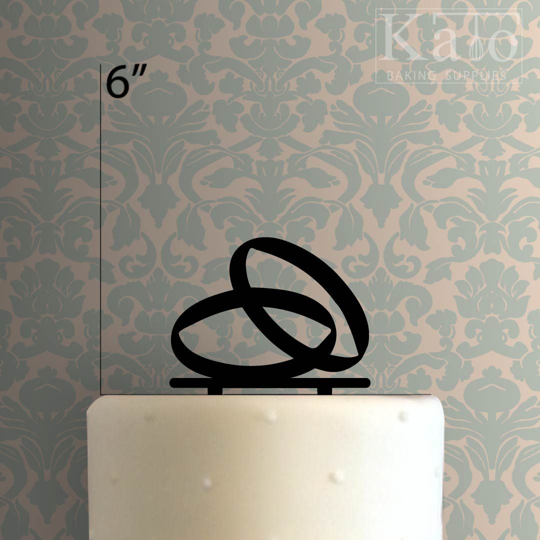 Wedding Rings 225 579 Cake Topper Cake Toppers Wedding Rings Caking It Up