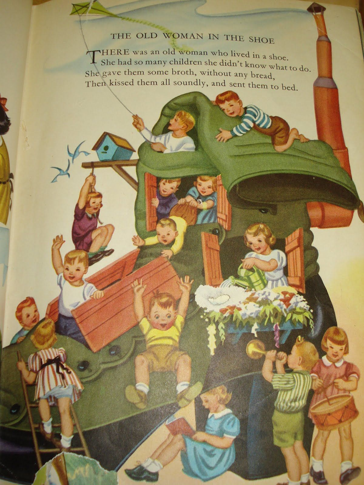 Childcraft Learned To Read From This Book Childrens Books Illustrations Nursery Rhymes Poems Childrens Poetry