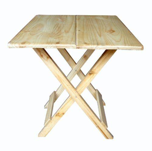 Pin como hacer una mesa plegable de madera con sus sillas for Mesa de camping plegable con sillas