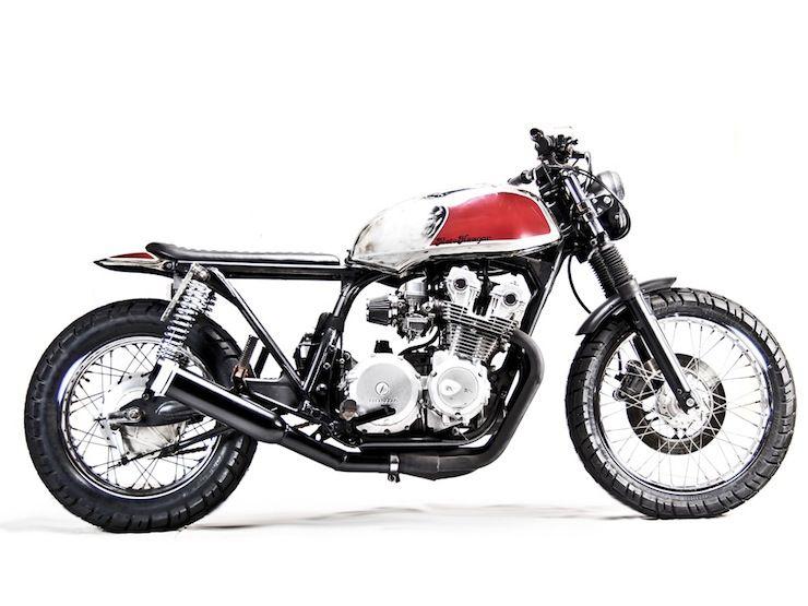honda cb750 custom by motohangar