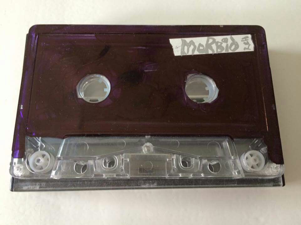 Morbid rehearsal tape that came from Dead. He wrote the text and logo.