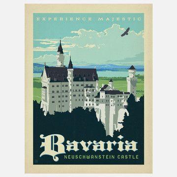 Anderson Design Group: World Travel Bavaria Print