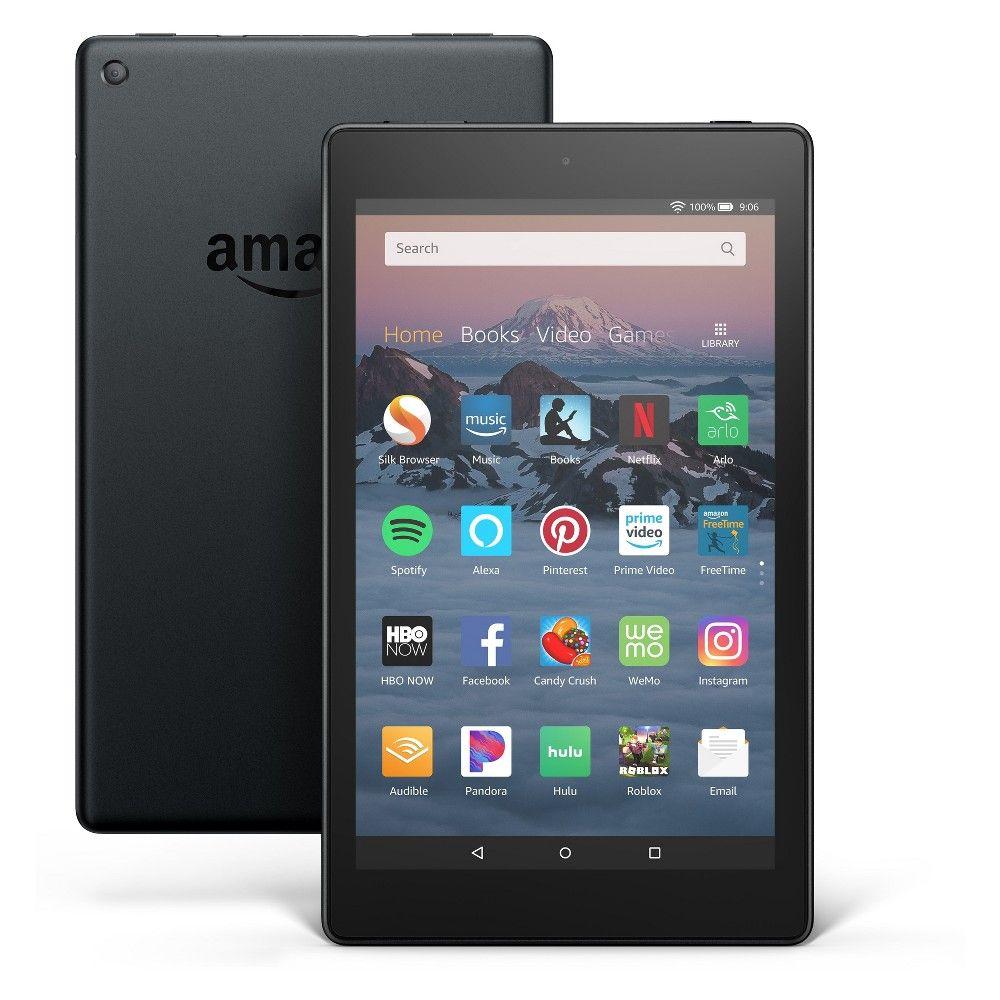 Amazon Fire Hd 8 Tablet 8th Generation 2018 Release Black